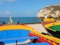 Visites de grottes et de côtes avec de vieux bateaux de pêche.