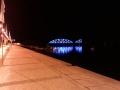 Vieux Pont Portimao avec éclairage sardines.
